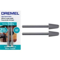 Dremel High-Speed Cutter 6.4mm #117 - 3.2mm shank 2pc