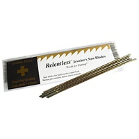 Relentless Jewellers saw blades 76TPI (pk 12)