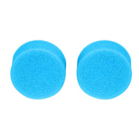 Polishing sponges, blue, medium hard