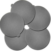 Sanding disc, silicon carbide, 320grit, 250mm diameter, 5 pcs (suit TG 250/E)