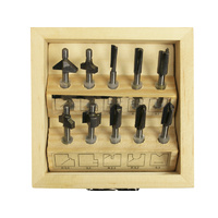 Proxxon HSS Router Bit Set, 10 pcs