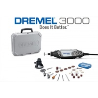 Dremel 3000 EZ Series Rotary Tool & Kit+cutting guide + 26
