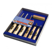 Kirschen Carving Chisel Set - 7pc - 3427-SB