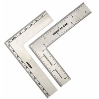 Miniature flat square S/S 75x100mm