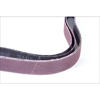 25.4mm x 762mm Sanding Belts, 120 Grit (Pkg. of 2)