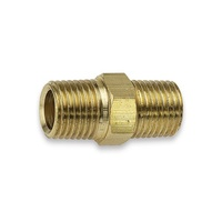"Nipple Brass Hexagon 1/8"" male x 1/8"" male BSP"