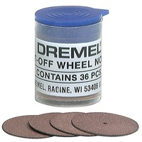 "Dremel 24MM (15/16"") Cut-Off Wheel.(Pack of 36) #409"