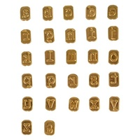 Mini Hot Stamps Alphabet Set - Lowercase