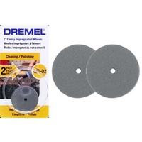 Dremel 425-02 Polishing Wheels - 2pc