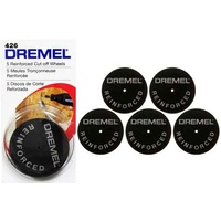 Dremel 426 - 5pc Reinforced Cut-Off Wheels 32mm