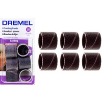 Dremel 12.7mm Sanding Band #432 6pc