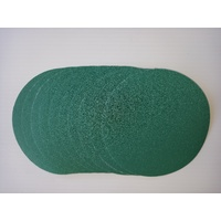 Hook and Loop Backed abrasive discs - 125mm x 80 grit -10 pc