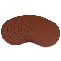 Hook and Loop Backed abrasive discs - 125mm x 600 grit -10 pc