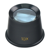 Eye Loupe -10X Magnification - Plastic