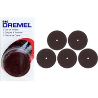 Dremel 540 - 5pc 32mm Cut-off Wheels - 1.6mm  hole