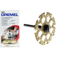 Dremel 32mm Carbide Cutting/Shaping Wheel #543