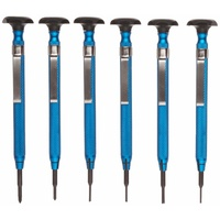 6-Piece Slot/Phil/Screw Extractor Combo Reversible Driver Set