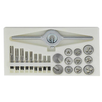 HSS Mini Metric Tap and Die Set (31 Pieces)