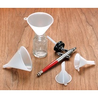 4-Piece Mini Polyethylene Funnel Set