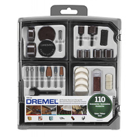 Dremel 110pce Accessory Set in Storage Case 709-01
