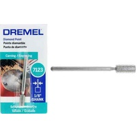 Dremel Diamond Cylinder Point 4.8mm x 9.5mm #7123