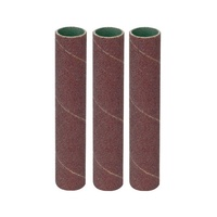 73001 Sanding Sleeves, 60,80,120 Grit, 20mm x 90mm for BBS1 3PK