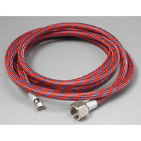 Paasche 2.4 metre (8') Braided Air Hose