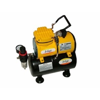 Artlogic AC1418  Super Quiet Mini Air compressor with tank