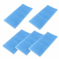 Replacement filters for suit-case style spray booth 5 pack