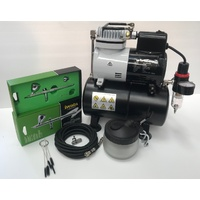 Airbrush & Compressor Kit - Iwata Neo Start-up