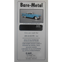 Bare Metal Foil, Black Chrome