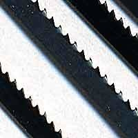 "Olson Coping saw blades Assort. (4pc) 163mm (6.5"") between pins"