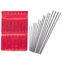 15 pc Metric drill set 0.3 - 1mm range