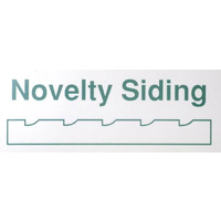"STYRENE Novelty Siding (Drop Siding) - Groove Spacing 3.7mm (.150"") 150mm x 300mm (6"" x 12"")"