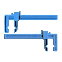 Small plastic slide clamp (2 pc)