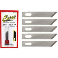 5pc Excel 20005 No 5 Narrow Chisel Knife Blades USA