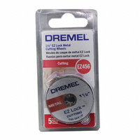 "Dremel EZ456 EZ Lock™ 38mm (1-1/2"") Cut-off Wheels (5 Pack)"