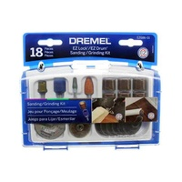 Dremel EZ686-01 Accessory Kit - Sand Grind EZ Lock EZ Drum
