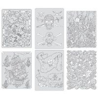 Piracy Set of 6 - Mini Series Templates