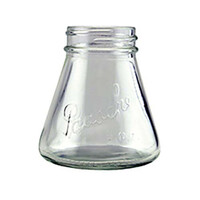 3oz tapered glass bottle only