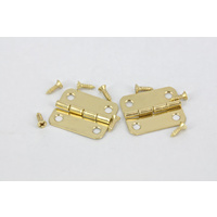 Hinge Brass #6 Gold 2 Pc/pkt