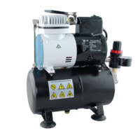 Super Quiet Mini Air Compressor With Tank And Fan