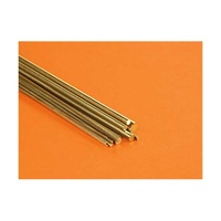 Round Brass Rod Assortment (18 Pieces, 300mm Long)