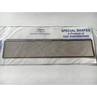 K&S Brass Mesh 5/64 SQ Fine