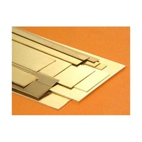 "1/64 "" x 12 "" BRASS STRIP ASSORTMENT (18 PIECES)"