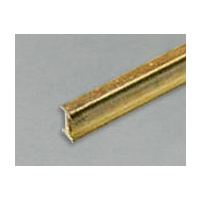 Brass I-Beam 1.6mm x .79mm x 300mm 1 PC