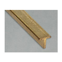 "Brass T-Section 1.6mm (1/16"") x  12"" 1 PC"