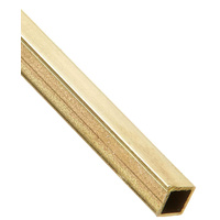 "Brass Tube Square 4.76mm (3/16"") x 914mm (36"") 6PC"