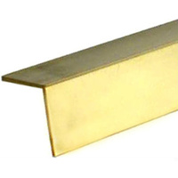 "BRASS ANGLE 5/32"" x .015"" x 12"" - 1 pc"