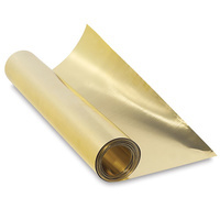 K&S Brass Foil Roll 300mm x 760mm x .05mm
